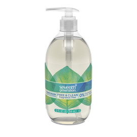 Natural Hand Wash, 12 oz.