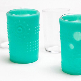 Siliskin Glass Cup, 6 oz. (2-pack)