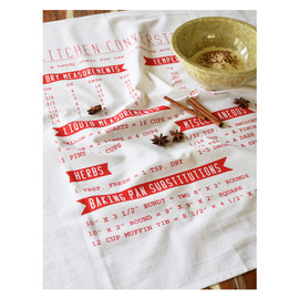 Conversions Tea Towel