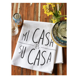 Cotton Tea Towel, Mi Casa Es Su Casa