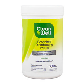 Botanical Disinfecting Wipes, 160 count