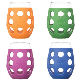 Small Stemless Wine Glasses (4-pack)