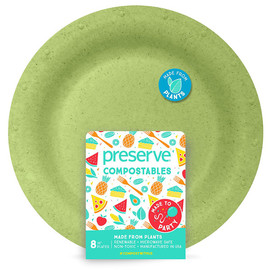 "Compostable 10"" Plates (8 count)"