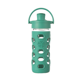 12 oz Glass Water Bottle with Active Flip Cap