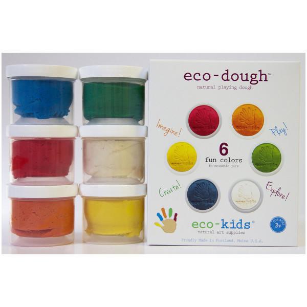 Eco-Dough (6 color pack)