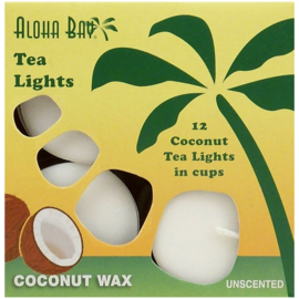Coconut Wax Tea Lights (12 pack)