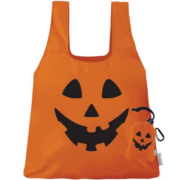 Reusable Shopping Bag, Pumpkin