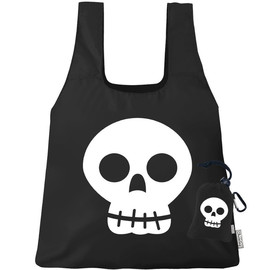 Reusable Shopping Bag, Skull