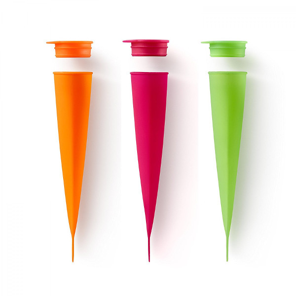 Ice Pop Molds, Set of 3
