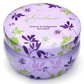 Aromatherapy Candle, French & Bulgarian Lavender