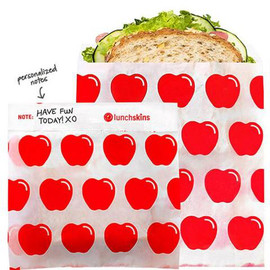 Sealable Paper Sandwich & Snack Bag, 50 ct