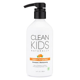 Clean Kids Naturally Tropical Orange Burst Shampoo, 16 oz.