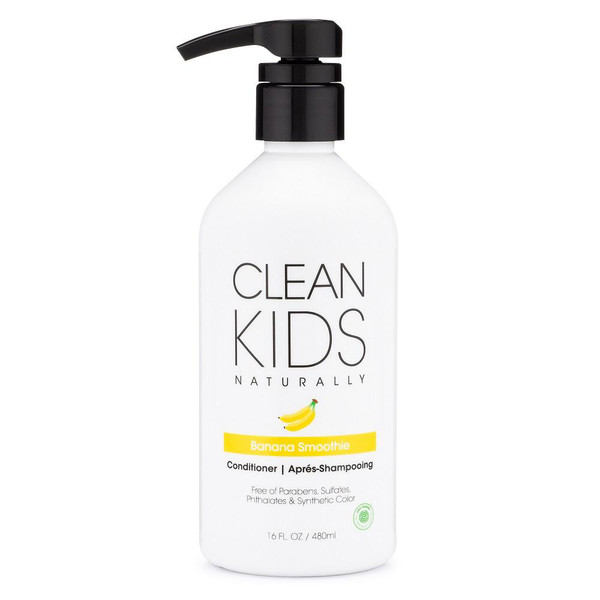 Clean Kids Naturally Banana Smoothie Conditioner