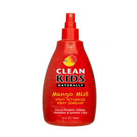 Clean Kids Naturally Mango Mist Spray Detangler, 16 oz.