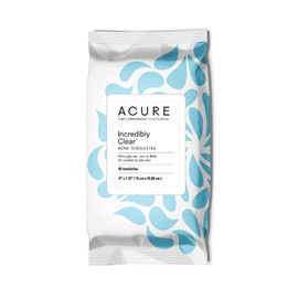 Incredibly Clear Acne Towelettes
