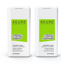 Curiously Clarifying Shampoo + Conditioner Set