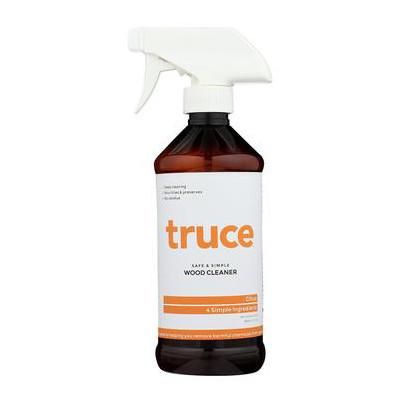 Truce Wood Cleaner Spray Bottle
