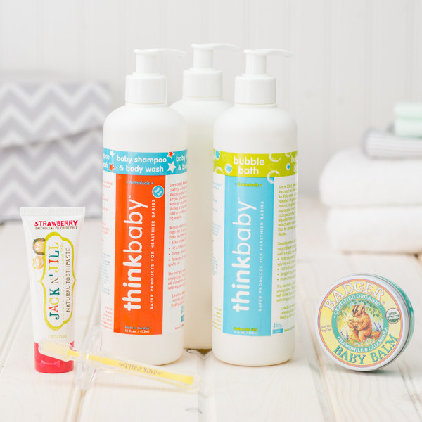Healthy Baby Body Care Bundle