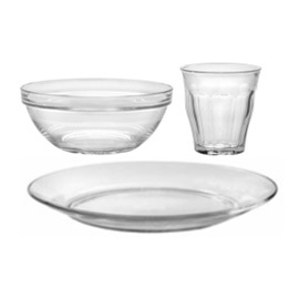 Glass Toddler Dishware Set