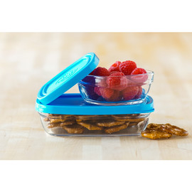 Glass Food Storage Set, 2 Piece