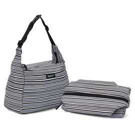 Hobo Lunch Bag, Wobbly Stripes