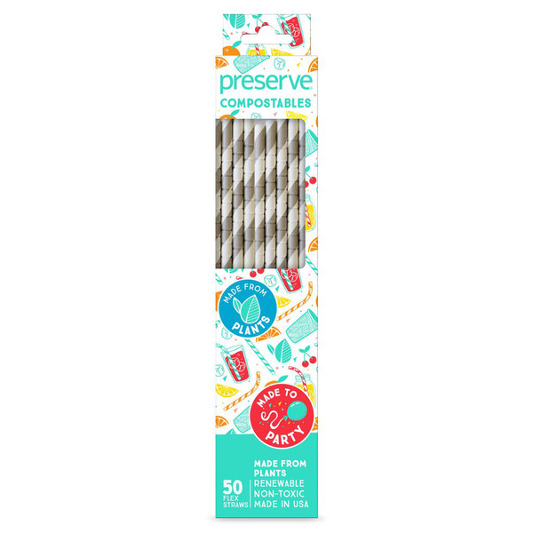 Compostable Straws (50 count)