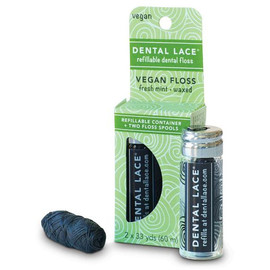 Refillable Vegan Dental Floss