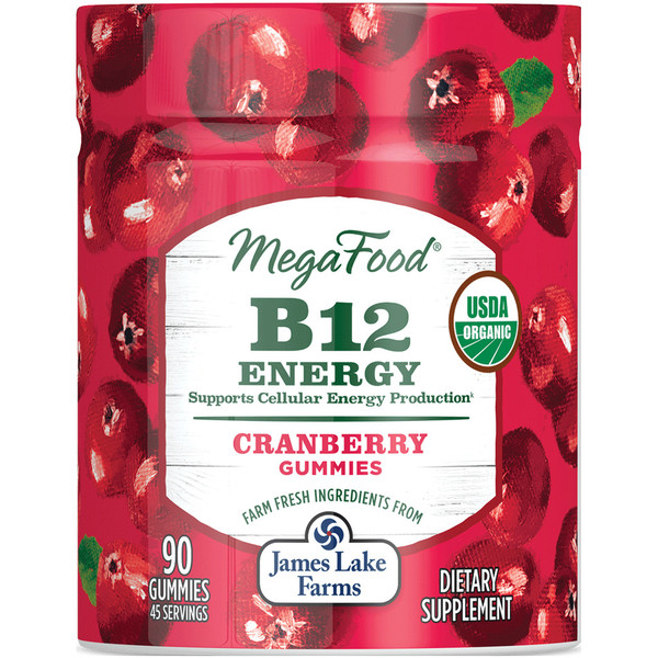 B12 Energy Cranberry Gummies