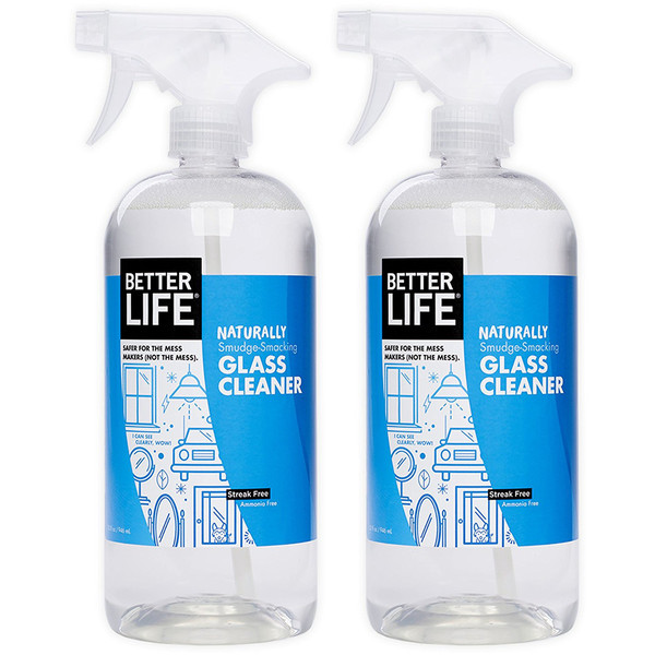 better life natural glass cleaner
