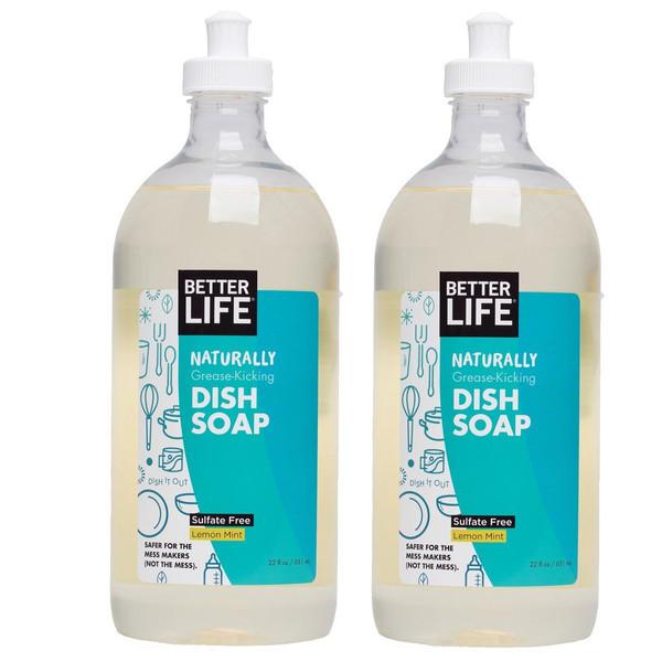 Naturally Grease-Kicking Dish Soap