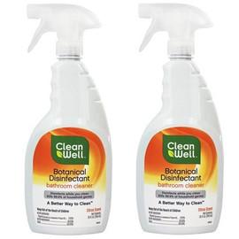 Botanical Disinfectant Bathroom Cleaner Citrus Scent - 26 oz.