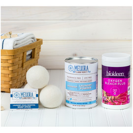 Natural Laundry Kit with Dryer Balls