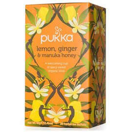 Lemon, Ginger & Manuka Honey Tea