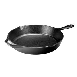 "12"" Seasoned Cast Iron Skillet"
