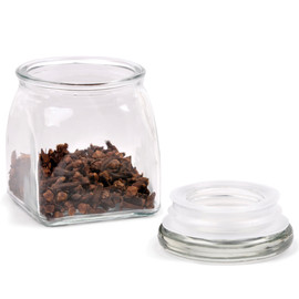 Glass Spice Jar, 4 oz