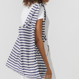 BIG Reusable Shopping Bag, Sailor Stripe