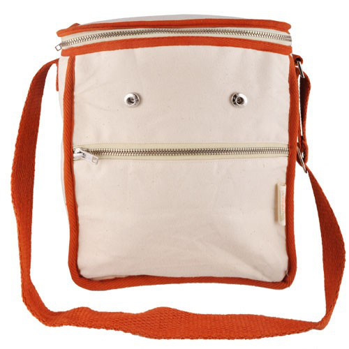 Wool Insulated Natural Lunch Bag