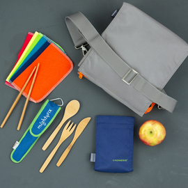 Crossbody Lunch Bag Essentials Kit