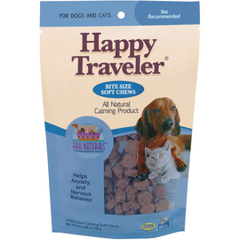 Happy Traveler All Natural Calming Chews for Pets