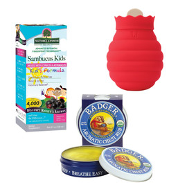 Natural Remedies Kit - Cold Care for Kids