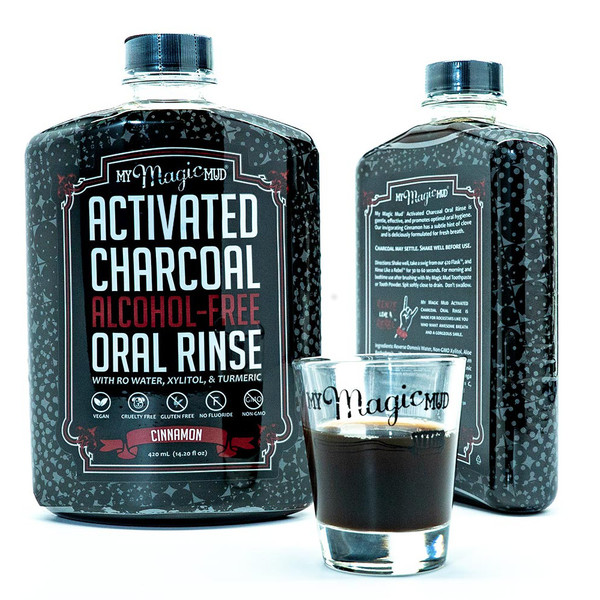 Activated Charcoal Oral Rinse
