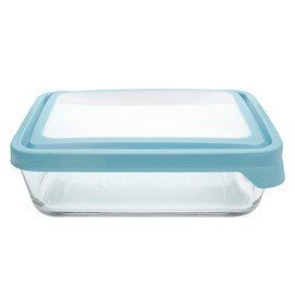 Rectangular TrueSeal Glass Food Storage Container, 6 Cup