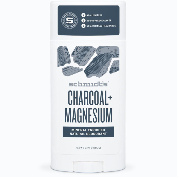 Schmidt's Charcoal Magnesium Stick Deodorant