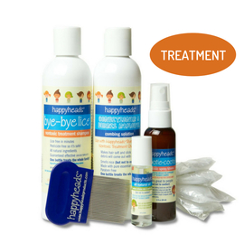 Bye-Bye Lice Treatment and Prevention Family Kit