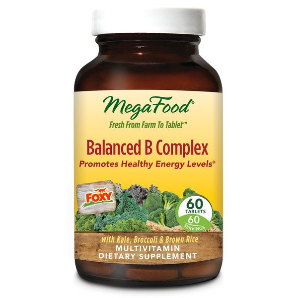Balanced B Complex Multivitamin Supplement