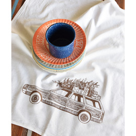 Cotton Tea Towel, Station Wagon