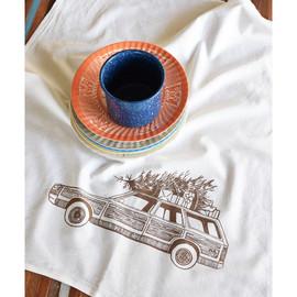 Cotton Tea Towel, Station Wagon