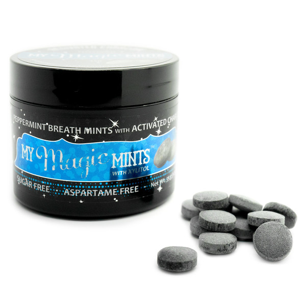 Activated Charcoal Breath Mints
