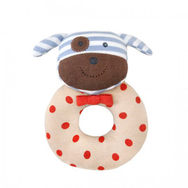 Boxer Dog Organic Rattle