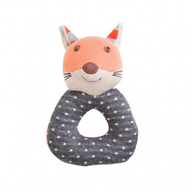 Frenchy Fox Organic Rattle
